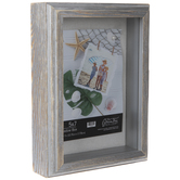 "Wood Shadow Box - 5"" x 7"""