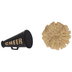 Cheer Megaphone & Pom Pom Shank Buttons