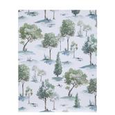 "Watercolor Forest Scrapbook Paper - 8 1/2"" x 11"""