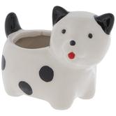 Mini Puppy Flower Pot