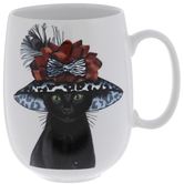 Fancy Hat Cat Mug