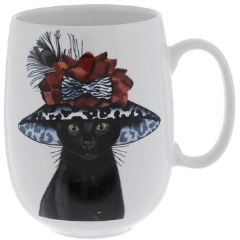 Fancy Hat Cat Mug