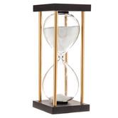 Black & Gold Art Deco Hourglass