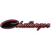 Dodge Challenger Metal Sign