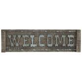 Welcome Wood Wall Decor