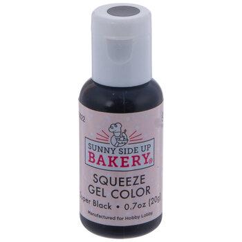 Super Black Squeeze Gel Color - 20 Gram