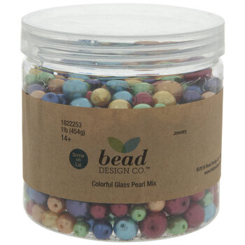 Colorful Glass Pearl Bead Mix
