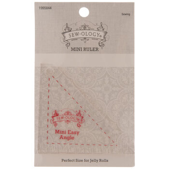 Mini Easy Angle Triangle Quilting Ruler
