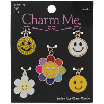 Smiley Face Charms