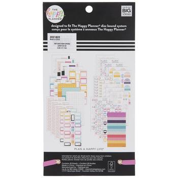 Budget Happy Planner Stickers
