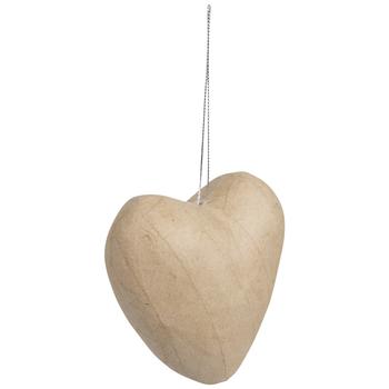 Paper Mache Hearts