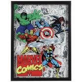 Marvel Comics Avengers Framed Wall Decor
