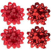 """Red Bows - 4"""""""