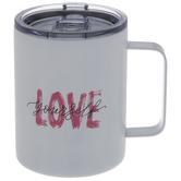 Love Yourself Metal Mug