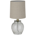 Hammered Glass Lamp