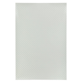 Miniature White & Gray Quatrefoil Dollhouse Tile
