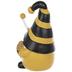 Yellow & Black Striped Bee Gnome
