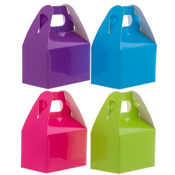 Bright Mini Paper Gable Boxes