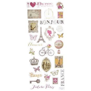 I Heart Paris Stickers