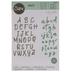Uppercase & Lowercase Alphabet Dies