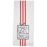 Mad Grill Skills Kitchen Towel