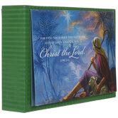 Luke 2:11 Shepherd Christmas Cards