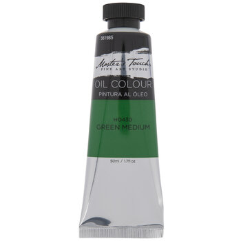 Green Medium Master's Touch Oil Paint - 1.7 Ounce