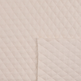Natural Double-Face Quilted Muslin Fabric