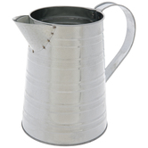 Striped Galvanized Metal Watering Can