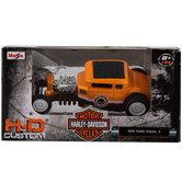 Harley Davidson H-D Custom Die Cast Car