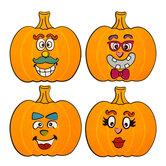 Pumpkin Face Sticker Craft Kit