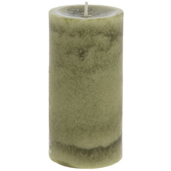 Honeydew Melon Pillar Candle
