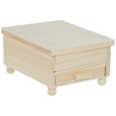 Wood Rectangle Jewelry Box
