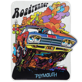 Chrysler Plymouth Roadrunner Metal Sign