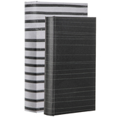 Black Striped Book Box Set