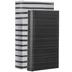 Black Striped Book Box Set
