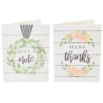 Farmhouse Wreath Cards