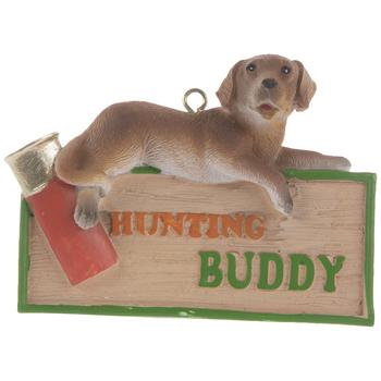 Hunting Buddy Ornament