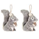 Squirrel Ornaments