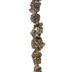 Metallic AB Citrine Bead Chip Strand