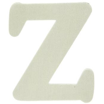 "Wood Letters Z - 4"""