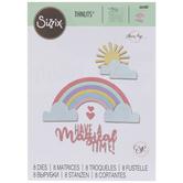 Sizzix Thinlits Rainbow Magic Dies