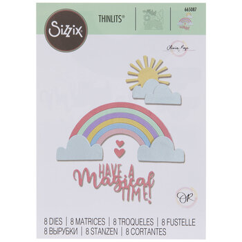 Sizzix Thinlits Rainbow Magic Dies