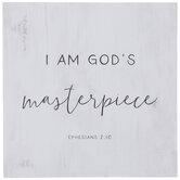Ephesians 2:10 Wood Wall Decor