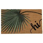 Hi Palm Leaf Doormat