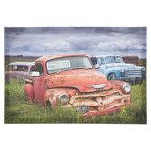 Vintage Cars & Trucks Canvas Wall Decor