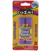 Cra-Z-Art Purple Disappearing Glue Sticks
