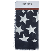Starry Voile Bandana With Fringe