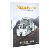 Freight Train Metal Earth 3D Model Kit