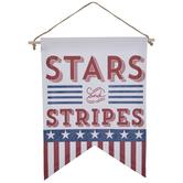 Stars & Stripes Banner Wall Decor